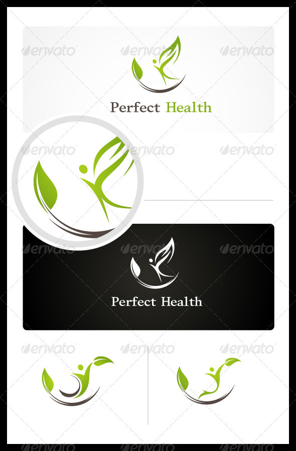 Perfect Health - Humans Logo Templates