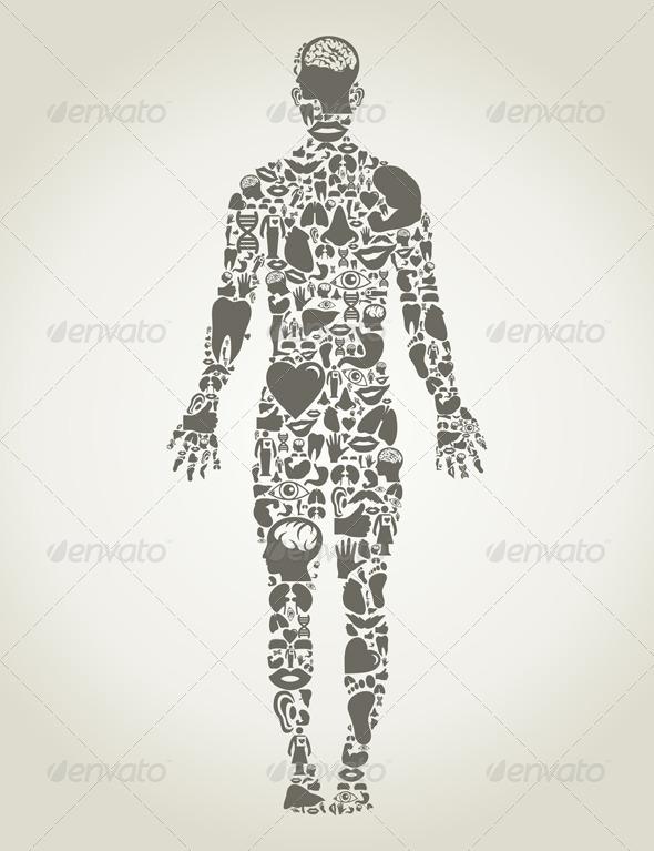 GraphicRiver Body Parts of the Person 3542751
