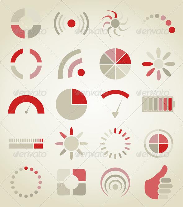 GraphicRiver Scale Icon Set 3542777
