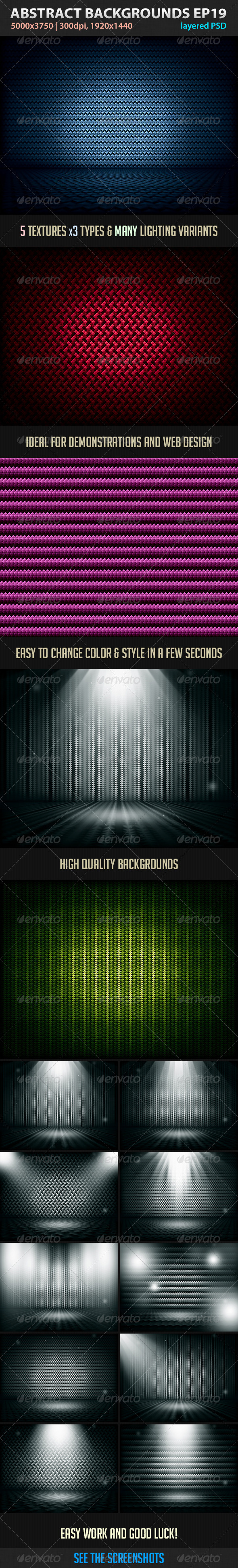 GraphicRiver Absctract Backgrounds EP 19 3542829