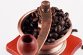 Coffee Beans in Vintage Grinder - PhotoDune Item for Sale