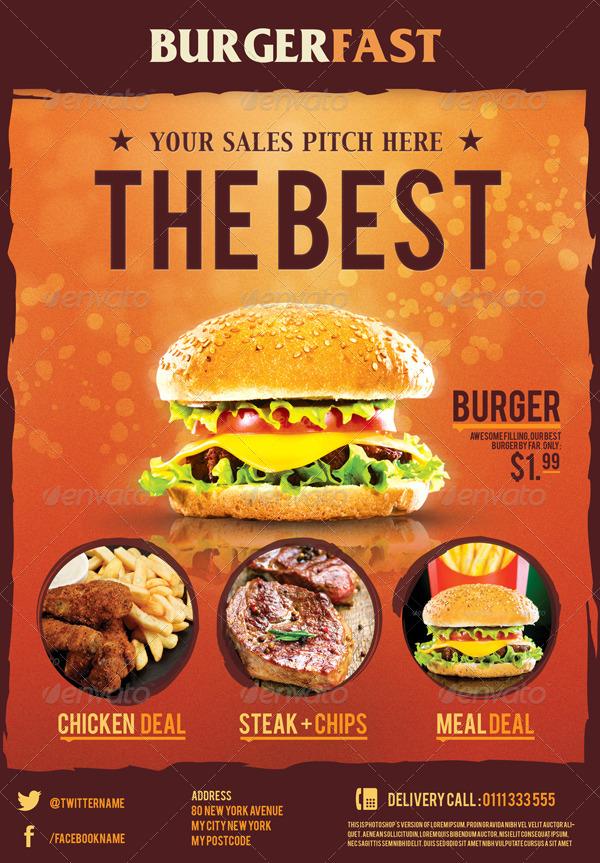 ultimate food flyers by corslu