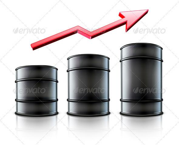 GraphicRiver Mmetal Oil Barrels 3543224
