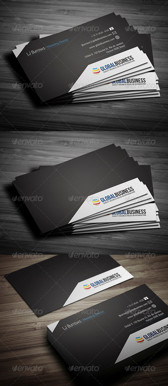 GraphicRiver Corporate Business Card 27 3543459