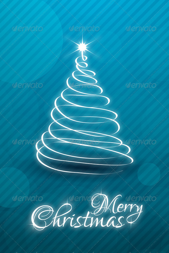 GraphicRiver Christmas Card Template 3544007