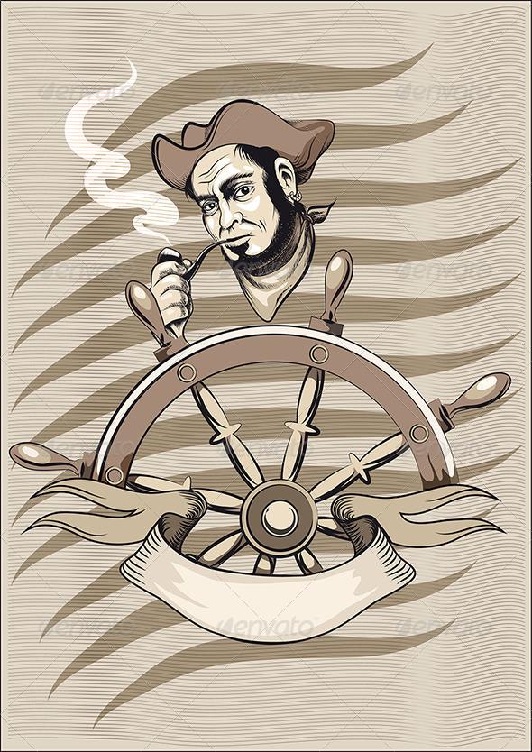 GraphicRiver The Old Seaman 3544429