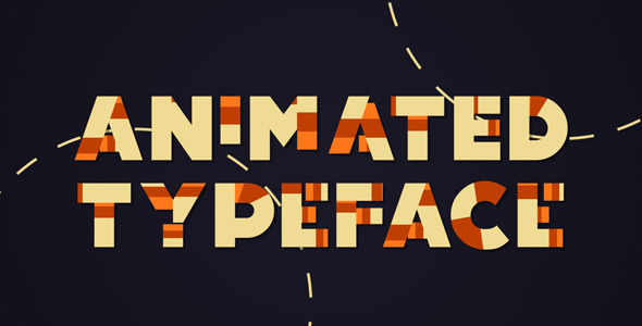 VideoHive Animated Typeface 3544621