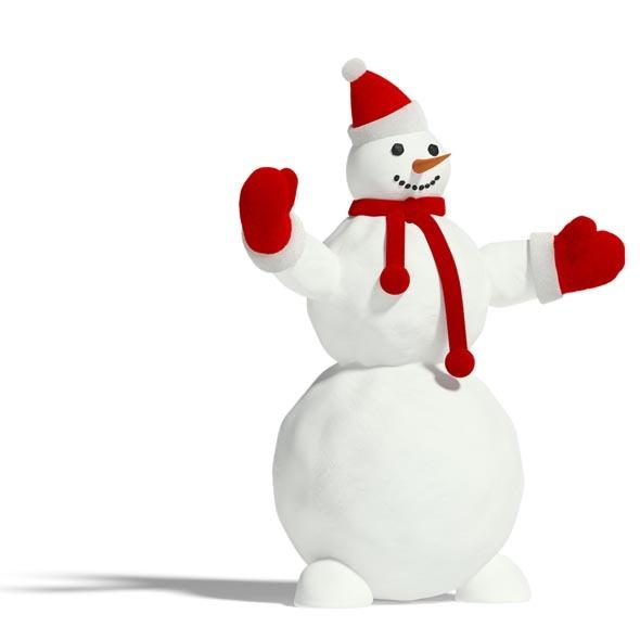 3DOcean Snowman 3544689