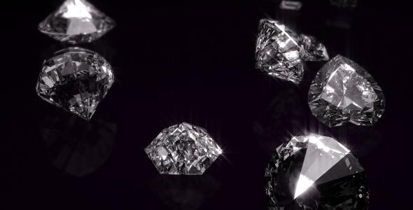 VideoHive Diamonds Opener 3544841