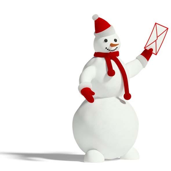 3DOcean Snowman 3545221