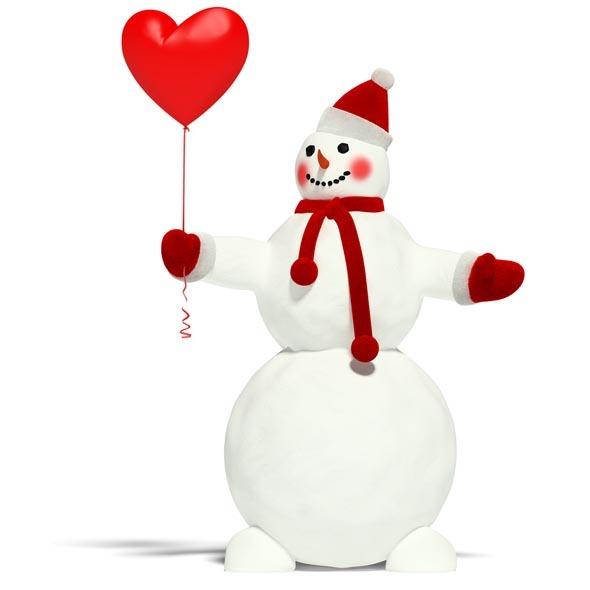 3DOcean Snowman 3545280