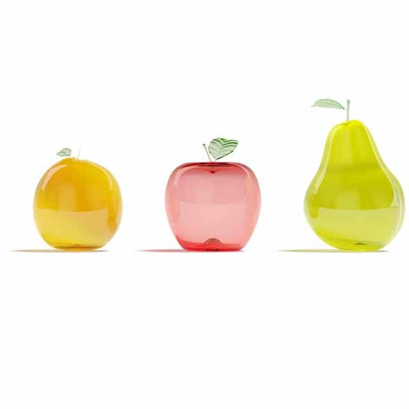 3DOcean Glass fruits 3545297