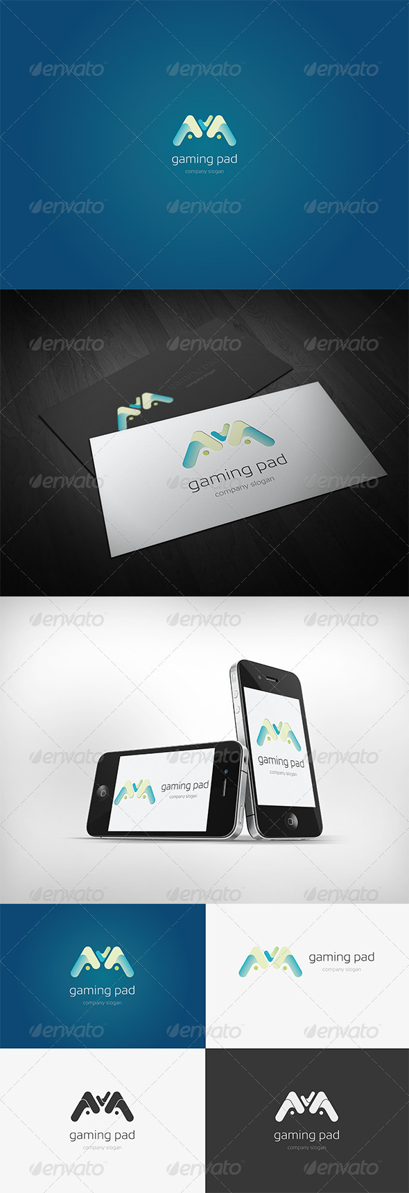 GraphicRiver Gaming Pad Logo 3540892