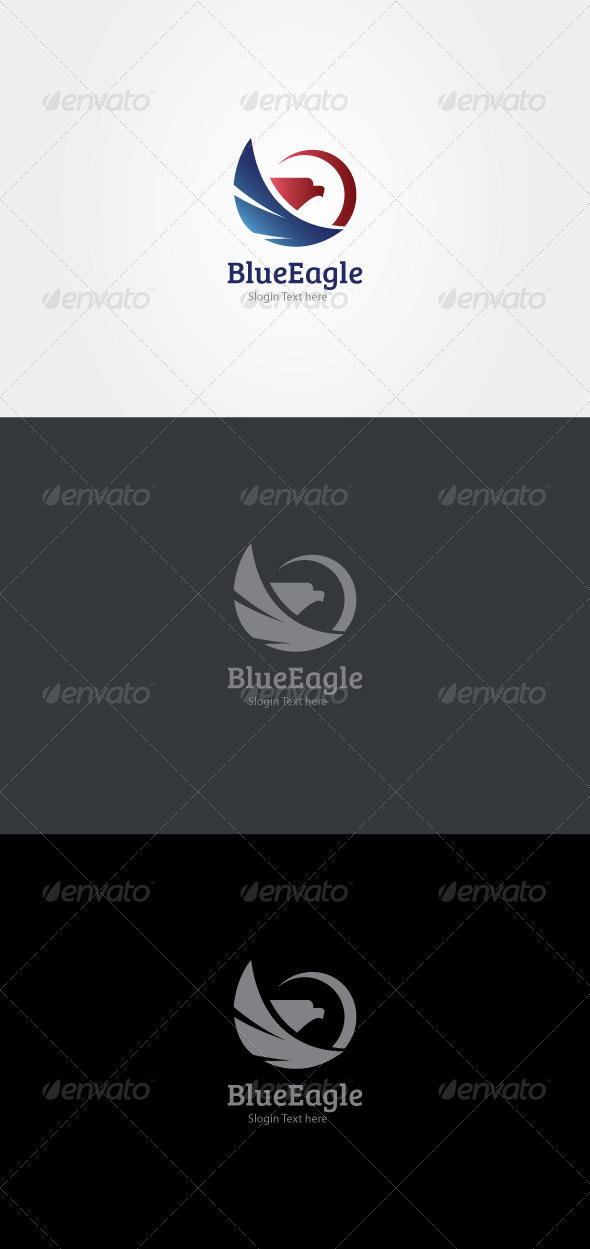 GraphicRiver Blue Eagle 3544106