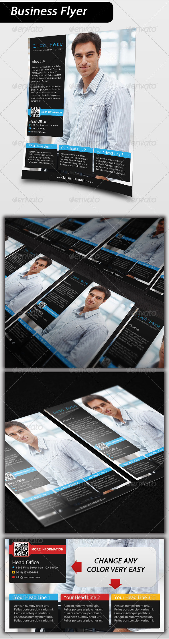 GraphicRiver Business Flyer 3545749