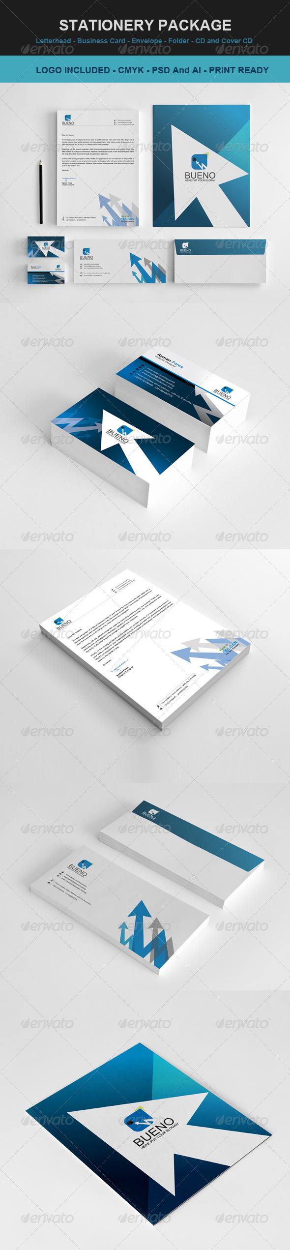 GraphicRiver Stationary & Identity Bueno 3545824