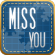 FB Cover - Miss You - GraphicRiver Item for Sale