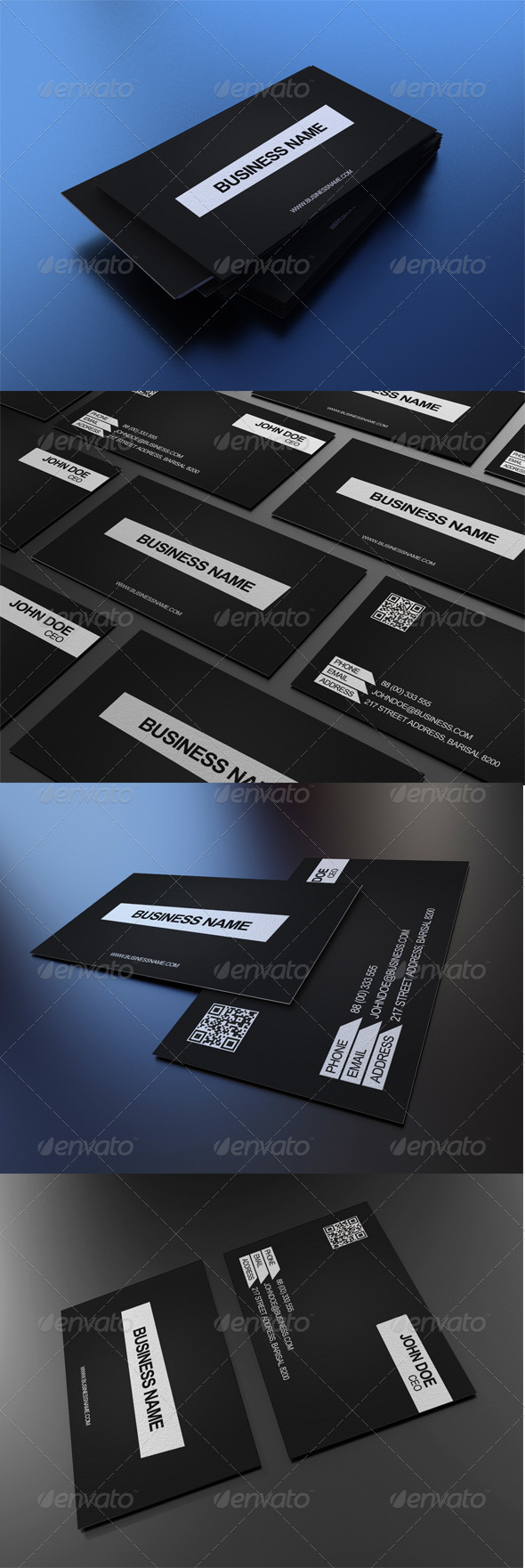 GraphicRiver Corporate Business Card 1 3545881