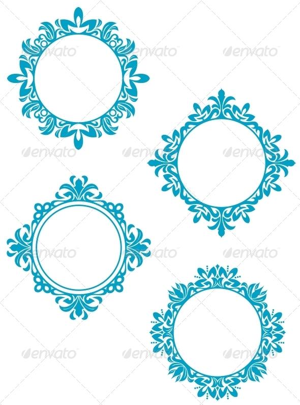 GraphicRiver Vintage Frames 3545899