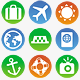 Vector Travel Icons - GraphicRiver Item for Sale