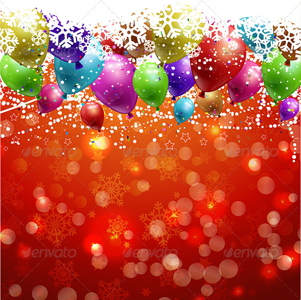 GraphicRiver Christmas Background 3546547