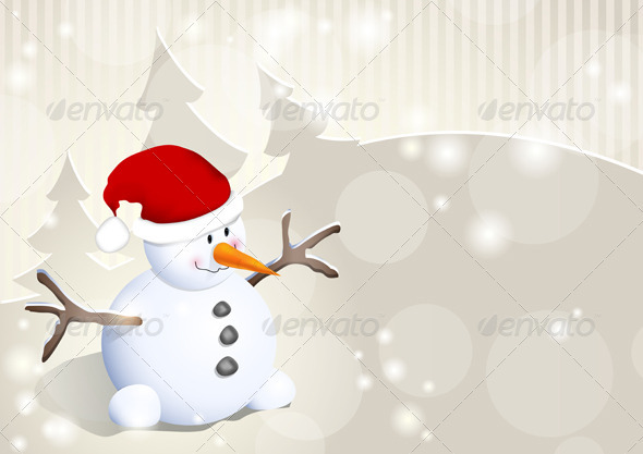GraphicRiver Snowman 3546951