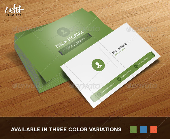 GraphicRiver Business Card 3547276