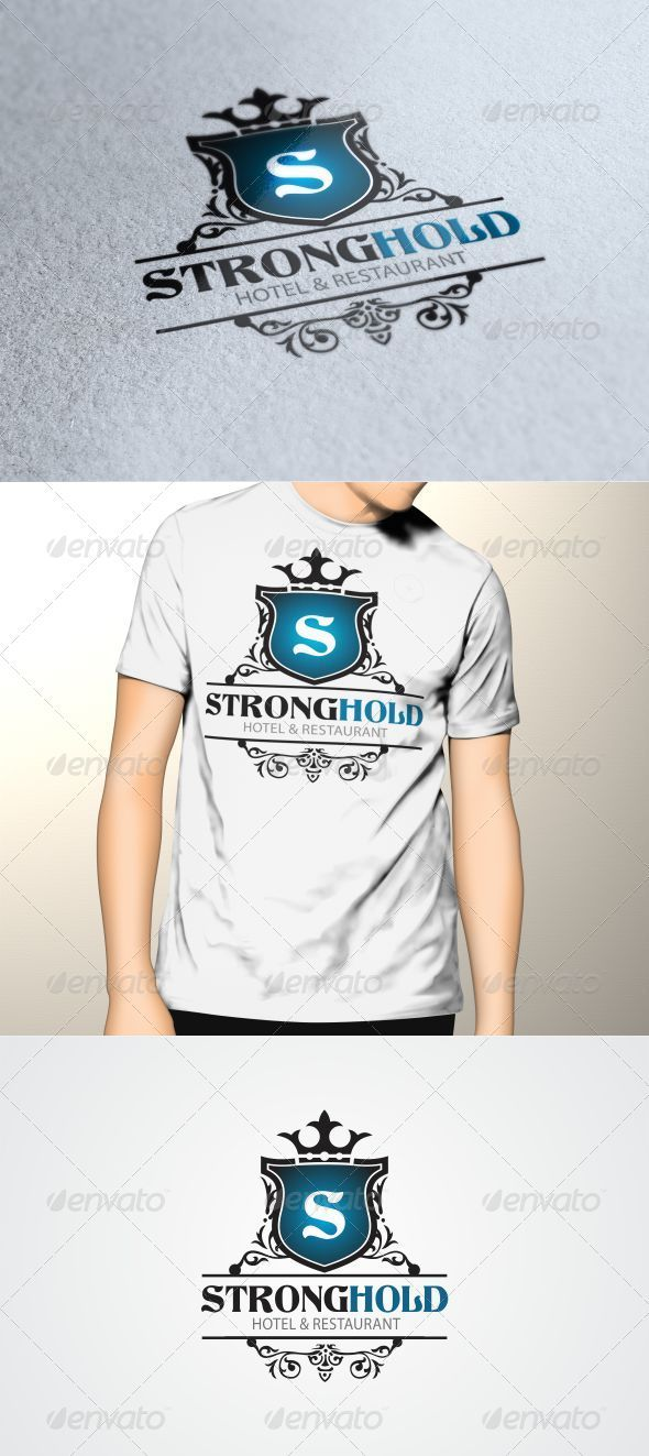 GraphicRiver Strong Hold Logo Template 3507697