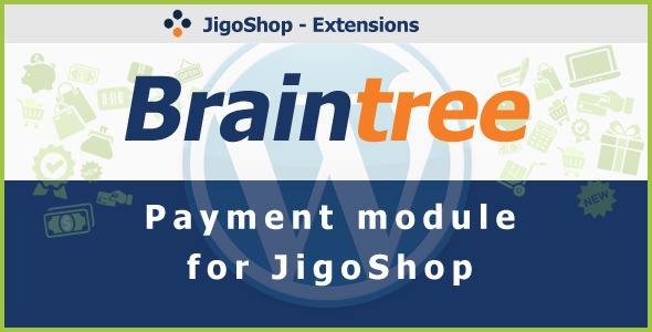 Braintree Betaling Gateway for JigoShop - WorldWideScripts.net vare til salg
