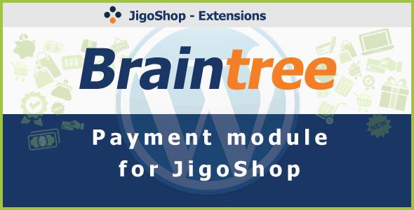 CodeCanyon Braintree Payment Gateway for JigoShop 3547888