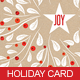 Holiday Card Template - GraphicRiver Item for Sale