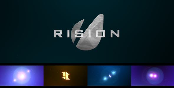 Rision VideoHive  Logo Stings  Abstract 3547926