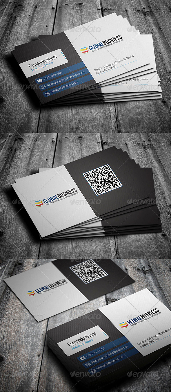 GraphicRiver Corporate Business Card 28 3548184