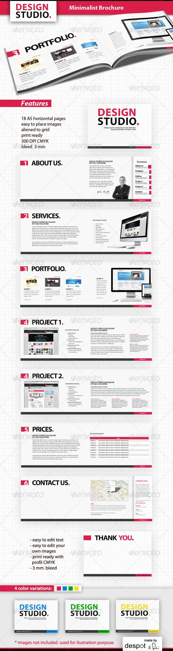 Minimalist Brochure - Corporate Brochures