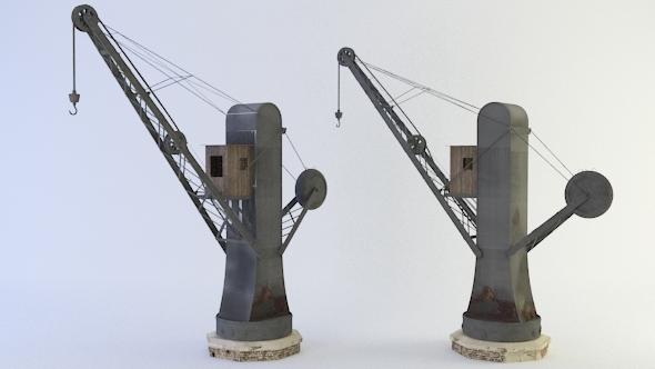 3DOcean Old Crane 3548408