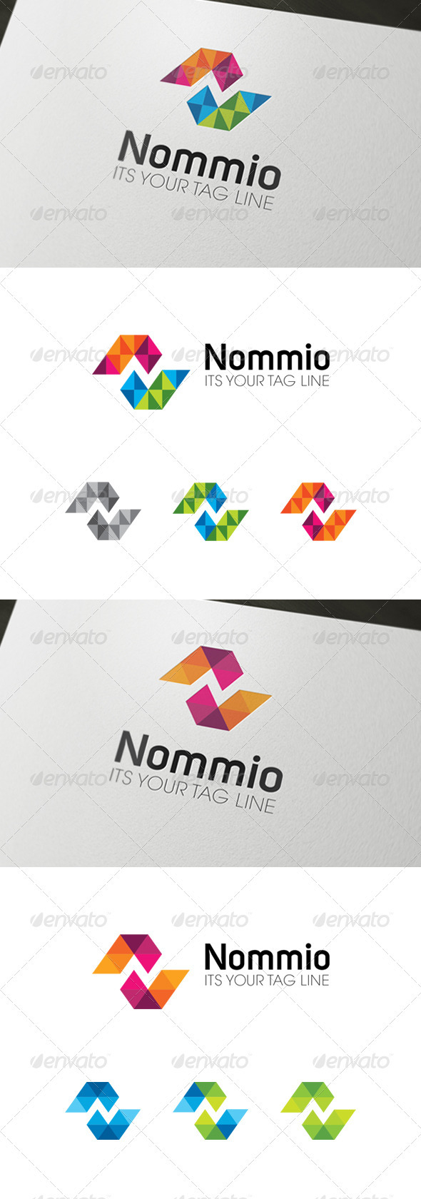 GraphicRiver Nommio Logo 3549342