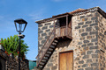 Colonial Rural House Facade in Tacoronte, Tenerife - PhotoDune Item for Sale
