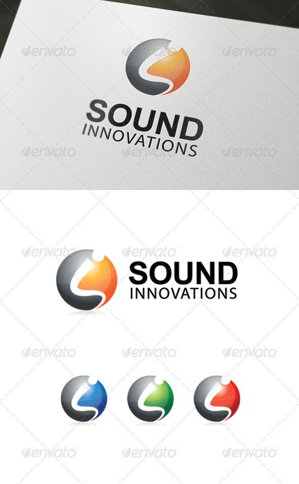 GraphicRiver Sound Innovations Logo 3549878