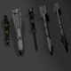 Anti Surface-To-Air Missile Armament - 3DOcean Item for Sale