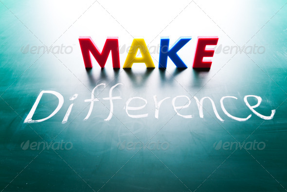 Make difference concept - Stock Photo - Images