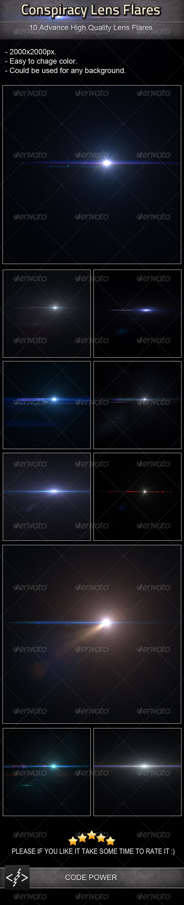 GraphicRiver Conspiracy Lens Flares 3550489