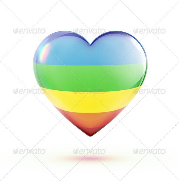 GraphicRiver Heart Shape 3551136
