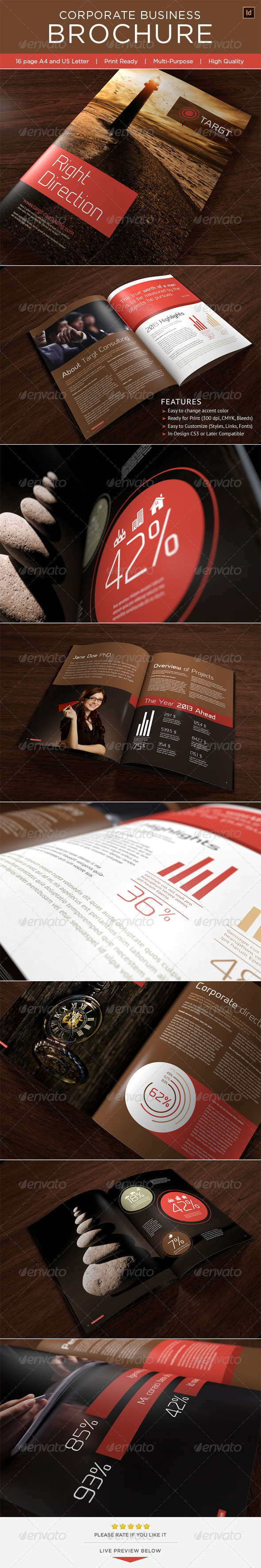 Corporate Business Brochure - Brochures Print Templates