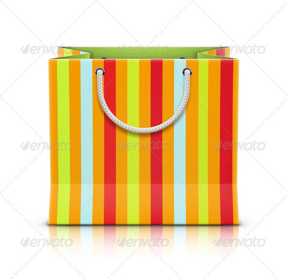 GraphicRiver Paper Shopping Bag 3551169