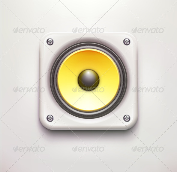 GraphicRiver Sound Loud Speaker 3551203