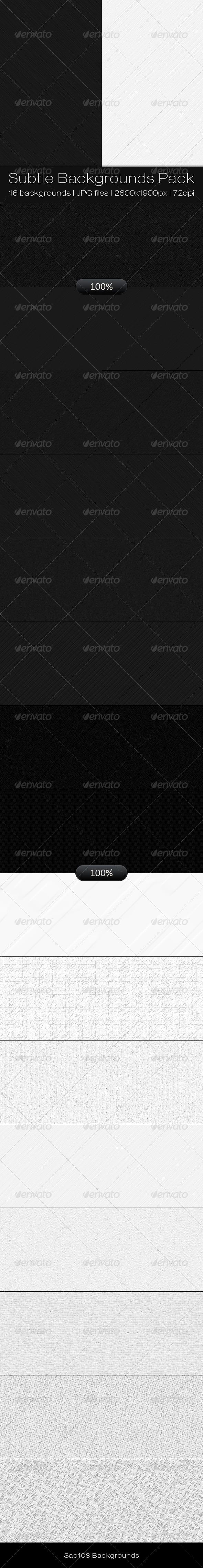 GraphicRiver Subtle Backgrounds Pack 3551262