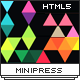 MiniPress - Responsive One Page Template