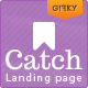 Catch Landing - Responsive Landing Page - ThemeForest Item for Sale