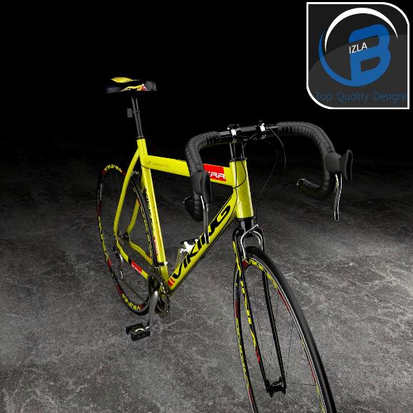 3DOcean Viking Giro D italia Racing Bike 3551752