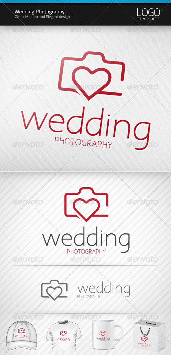 GraphicRiver Wedding Photography Logo 3552110